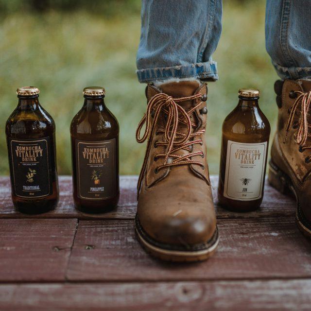 Kombucha vitality drink sustainability